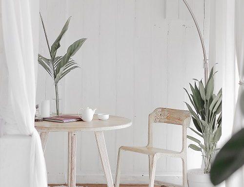 Neutrales, modernes Dekor trifft auf eine minimalistische Ästhetik!
