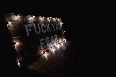 Ängste neigen dazu, zu eskalieren. Stopp
