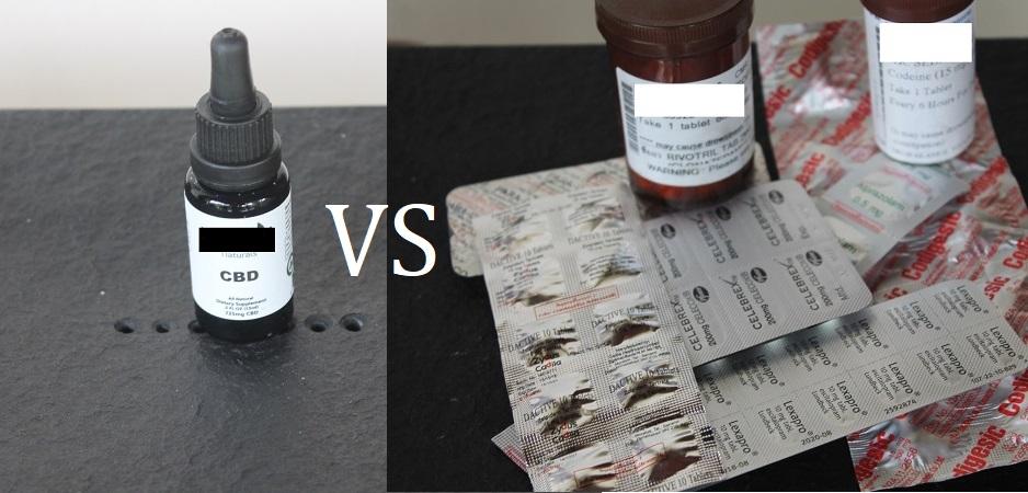 cbd vs schmerzmittel und benzodiazepine