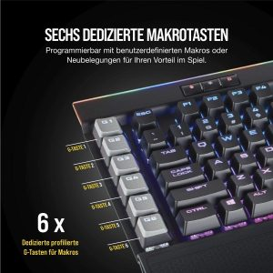 Corsair K95 RGB Platinum Mechanische Gaming Tastatur