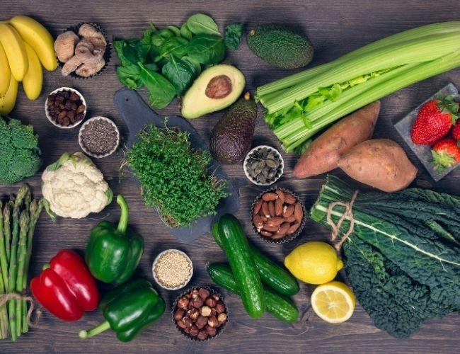 Basische Lebensmittel und Ernährung